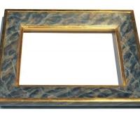 Profilrahmen In Gold Und Marmorierung
