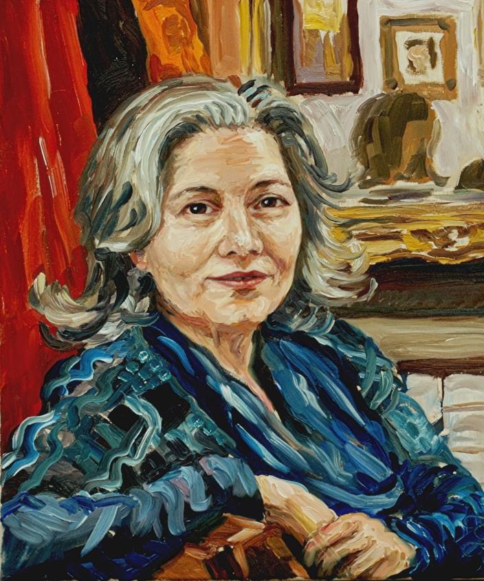 Stephan Ois - Auftrag Portrait malen lassen