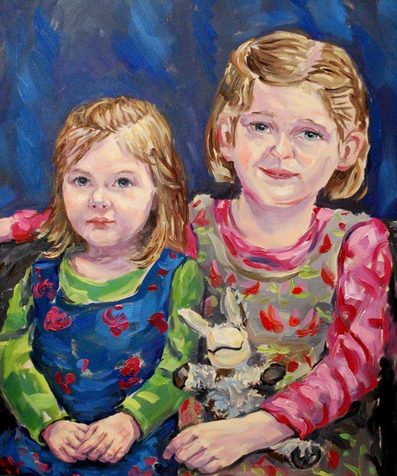 Stephan Ois - Portraitkünstler - Alla Prima-Portrait malen lassen Öl Wien