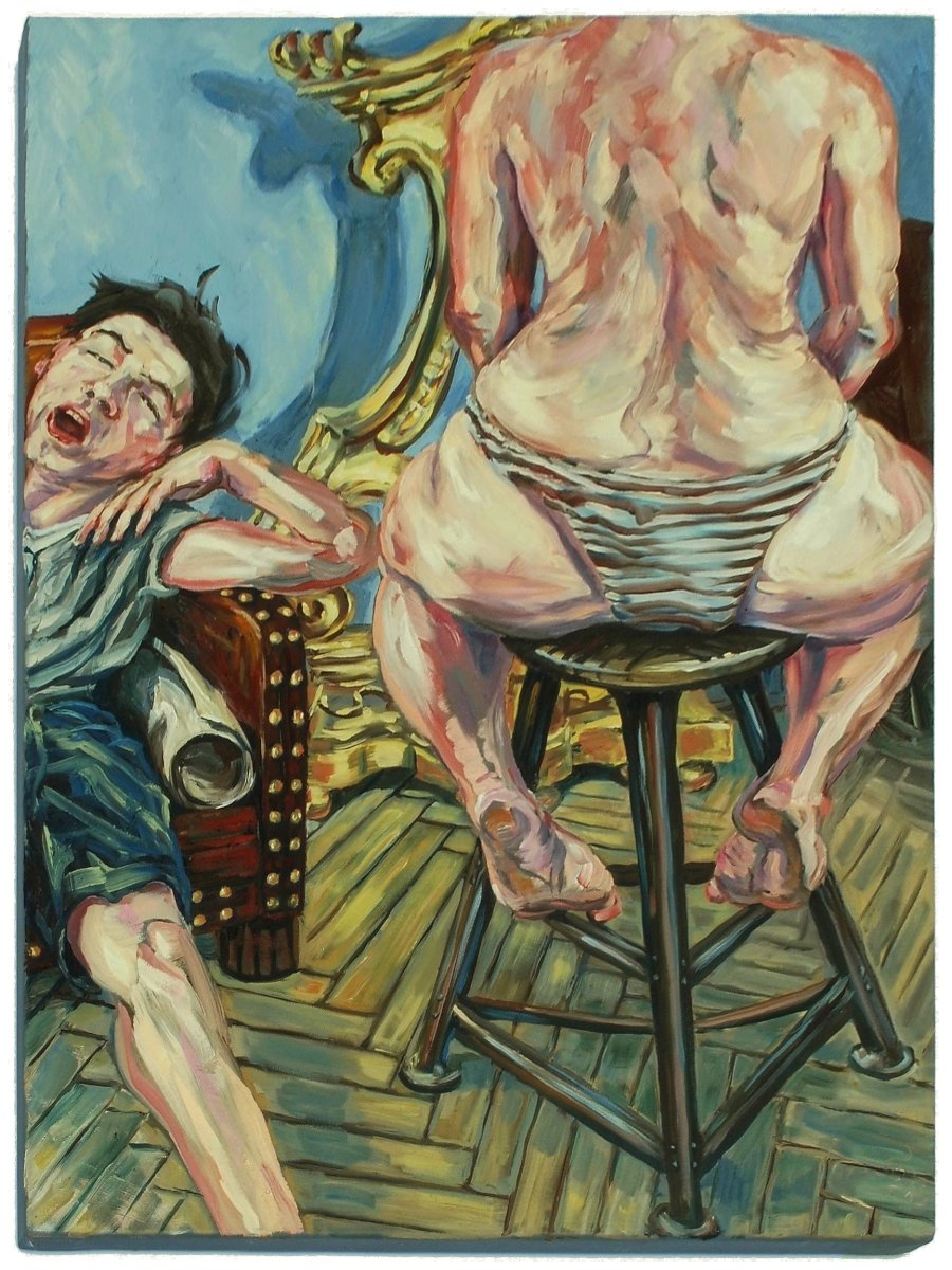 Stephan Ois - Funky Portraits, modern Portraits in Oil, contemporary Oilportraits, Kunst 21. Jahrhundert, kaufen