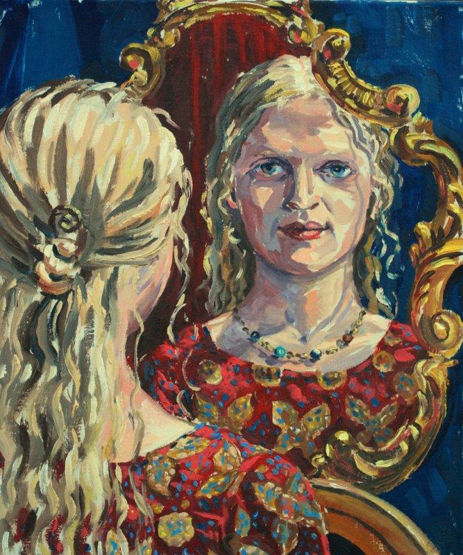 Portrait-Gemälde in Öl malen lassen Wien Österreich