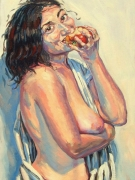 Stephan Ois - Aktmalerei, Ölgemälde auf Leinwand Kunst kaufen