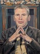 Kunst-gemälde kaufen wien-Ölportrait 2017