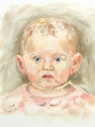 Kinder-portrait malen lassen wien