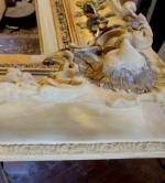 Restaurierung-Biedermeier-Holzrahmen