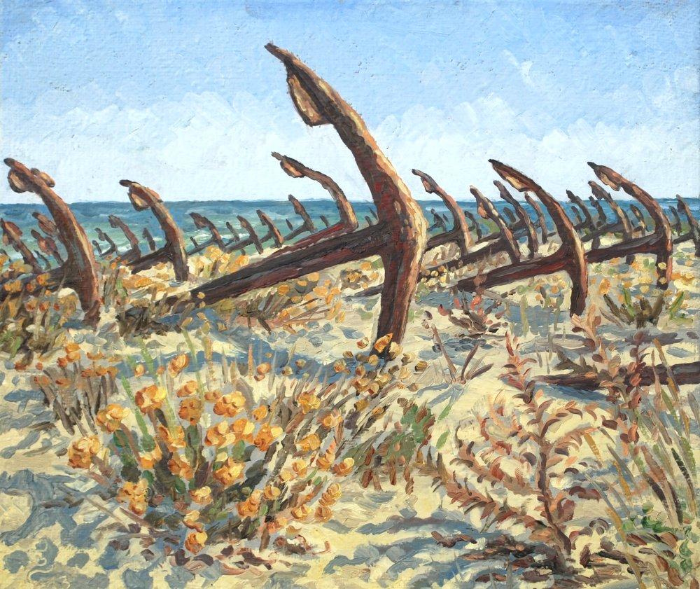Meereslandschaft Gemälde Ölmalerei