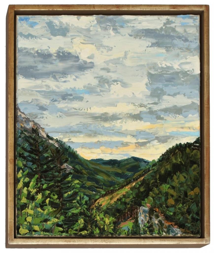 Stephan Ois - zeitgenössische Malerei Österreich, Landschaft Gemälde Wandbild kaufen