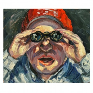 Stephan Ois - zeitgenössische, moderne Kunst Wien, #Portrait, gemalte Bilder, Acrylbilder kaufen Wien