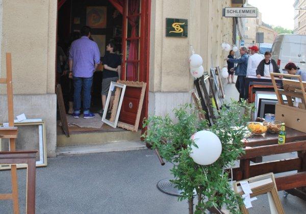 Ausstellung 1180 Wien, Kunst und Bilderrahmen