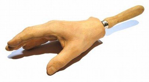 Stephan Ois - Cool Handshake - haptische Skulptur in Beton